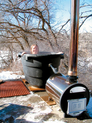 build your own cedar hot tub